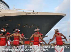 Queen mary2 sri lanka 300x222 photo